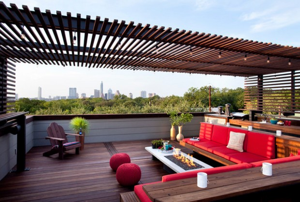 14 Amazing Rooftop Pergola Design Ideas Style Motivation