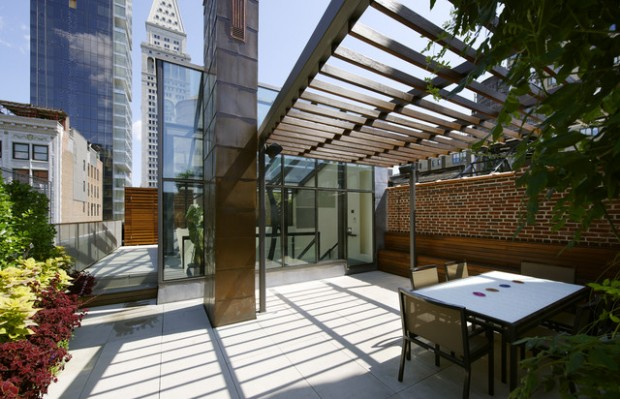 14 Amazing Rooftop Pergola Design Ideas