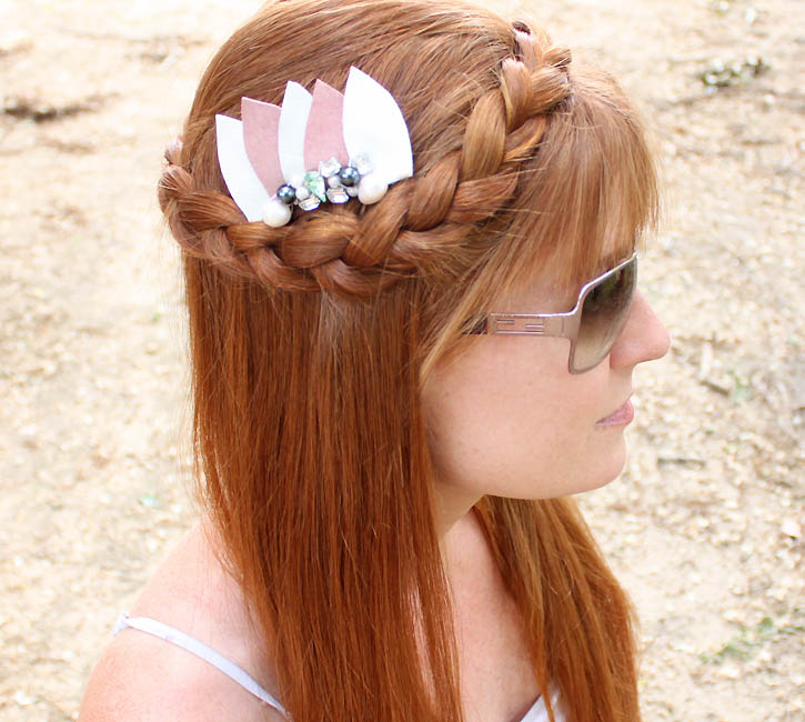 Cool Diy Hair: 20 Amazing DIY Hair Accessories That Are Totally Cool For