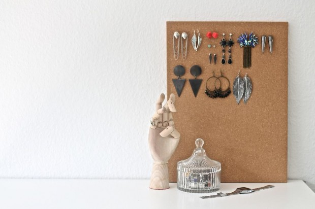 14 Simple and Creative DIY Jewelry Storage and Organization Ideas