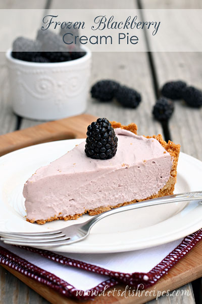 18 Delicious Frozen Pie Recipes to Try This Summer