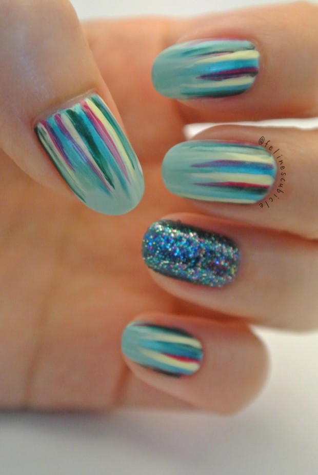 17 Super Cute Mint Nail Art Ideas for Summer - Style Motivation