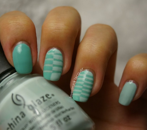 17 Super Cute Mint Nail Art Ideas for Summer