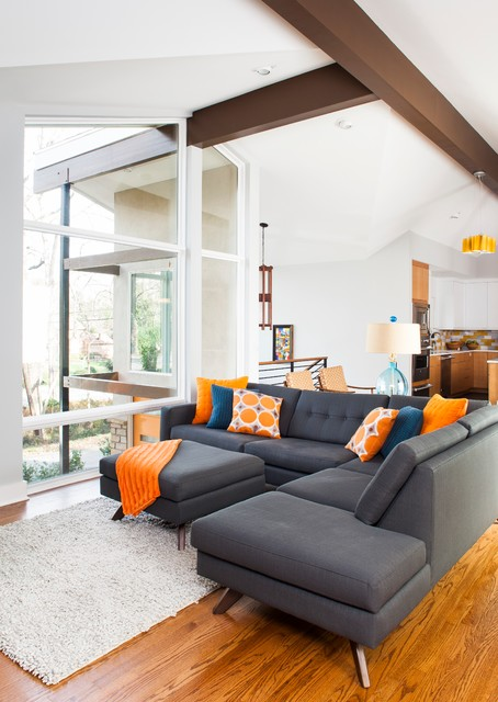 20 Creative Ideas how to Decorate your Interior with Orange Details