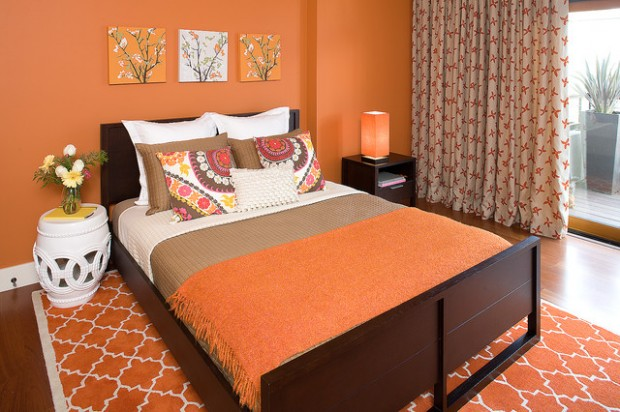 Orange Walls for Extraordinary Interior: 18 Gorgeous Ideas for your Home