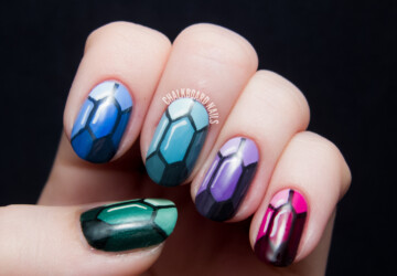 22 Alluring Nails Art Ideas Suit For The School Days - school nails, nails, Alluring Nails Art For School days, adorable nails