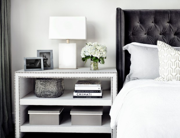 Incroyable 20 Unique Ideas For A Bedside Table Decor