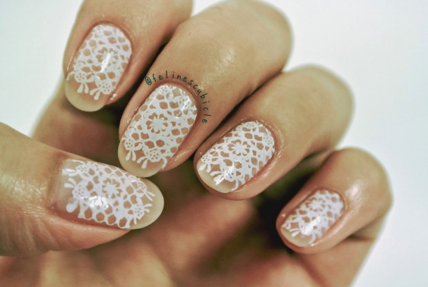 17 Lovely Bridal Nail Art Ideas for Romantic Look