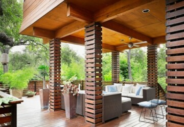 17 Amazing Covered Deck Design Ideas To Inspire You - outdoor decor, landscape outdoors, deck design idea, deck design, deck, covered deck