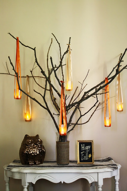17 cute and easy diy fall decorations for your home Fall home decorating ideas diy