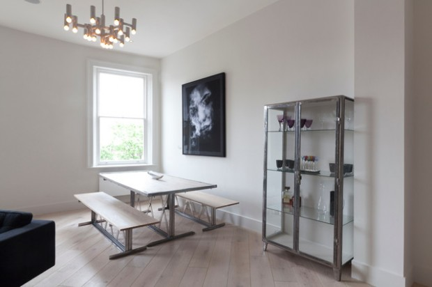 17 Great Dining Room Design Ideas for a Warm Industrial Look