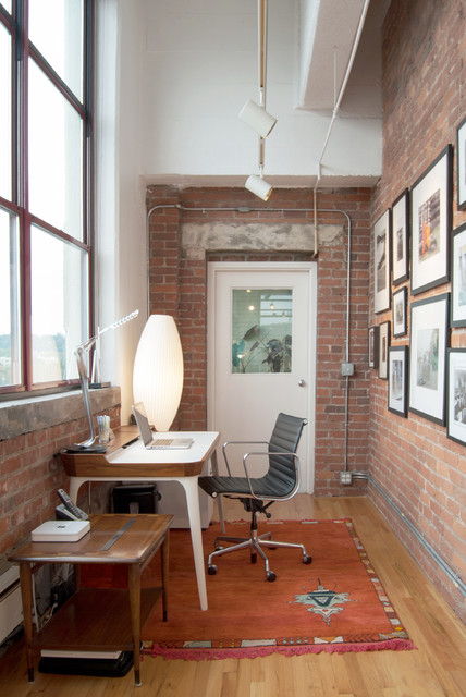 20 Industrial Home Office Design Ideas for Simple and Professional Look