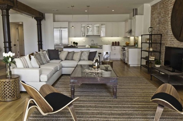 Industrial Living Room Ideas 19 urban living room design ideas in industrial style | lushzone