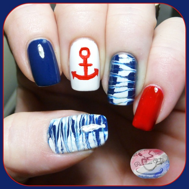 17 Creative Beach Inspired Nail Art Ideas