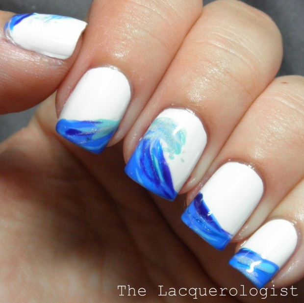 17 creative beach inspired nail art ideas style motivation 17 creative beach inspired nail art ideas prinsesfo Image collections