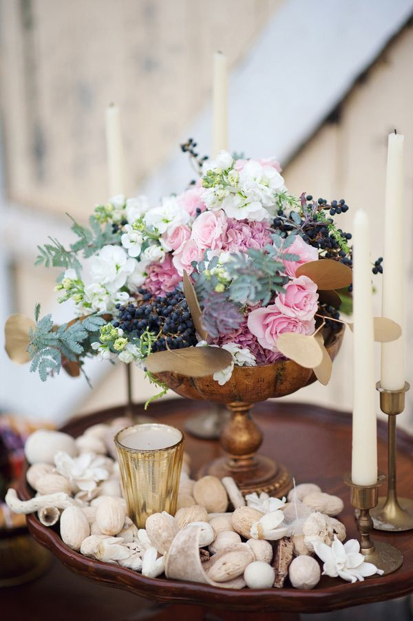 20 lovely floral centerpiece ideas for your wedding decor style motivation Centre table mariage plage idees