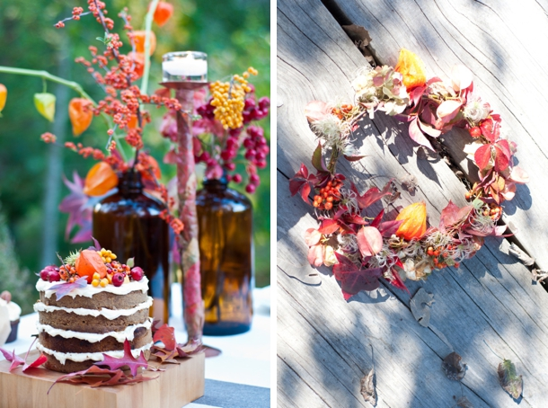 20 Romantic Decor Ideas for Fall Themed Wedding  (1)