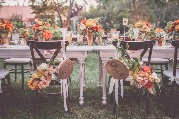 20 Romantic Decor Ideas for Fall Themed Wedding  (10)