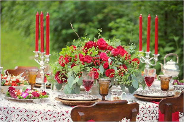 20 Romantic Decor Ideas for Fall Themed Wedding  (14)