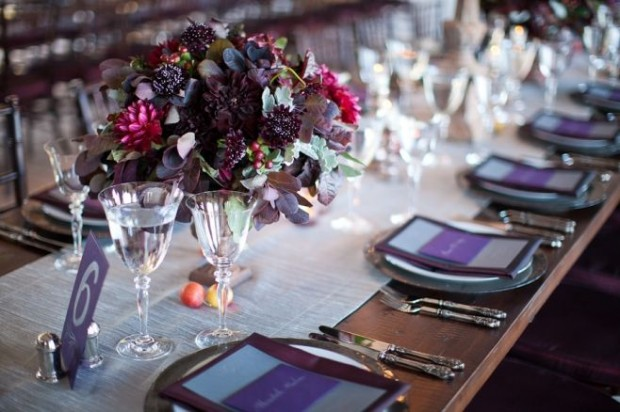 20 Romantic Decor Ideas for Fall Themed Wedding  (2)