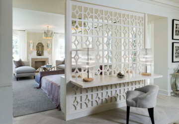 18 Practical and Creative Ideas How to Maximize Your Space with Room Dividers - room dividers, Organization, maximize space, Living room
