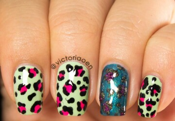 22 Adorable Animal Print Nail Art Ideas - nail art ideas, animal print nail art, animal print