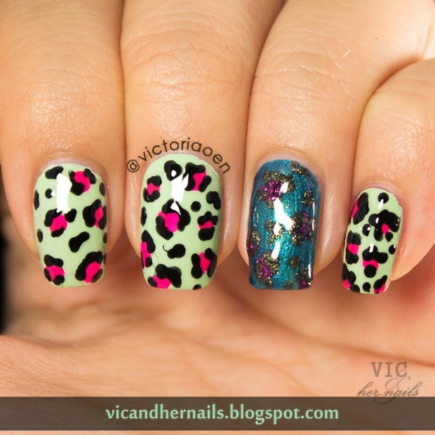 22 adorable animal print nail art ideas style motivation 22 adorable animal print nail art ideas prinsesfo Choice Image