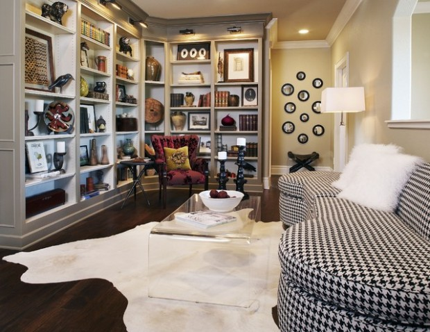 21 Brilliant Design and Decoration Ideas for Arranging Your Bookcase