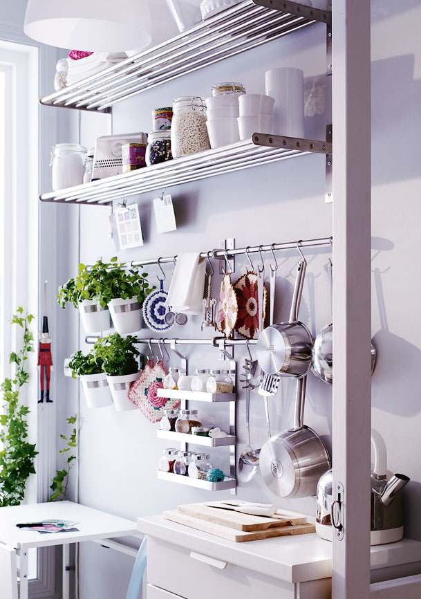 How to add amazing storage solutions to your home style Ikea hanging kitchen storage