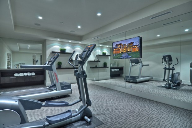 20 Cool Home Gym Design Ideas For Healthier Family Style Motivation