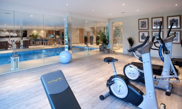 Cool home gym design ideas for healthier family style