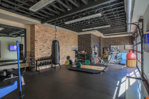 20 cool home gym design ideas for healthier family style Home gym decor ideas