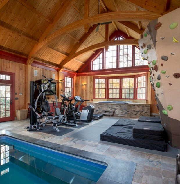 Home Gym Design Ideas: 20 Cool Home Gym Design Ideas For Healthier Family