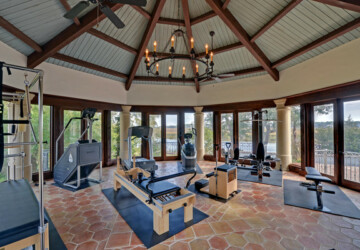 20 Cool Home Gym Design Ideas for Healthier Family  - workout, home workout, home gym, healthy