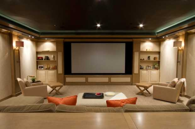 Beautiful 23 Ultra Modern And Unique Home Theater Design Ideas