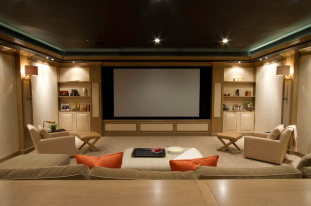 23 ultra modern and unique home theater design ideas style motivation - Home cinema design ideas ...