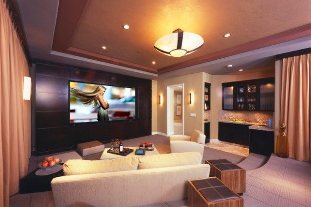 Perfect 23 Ultra Modern And Unique Home Theater Design Ideas