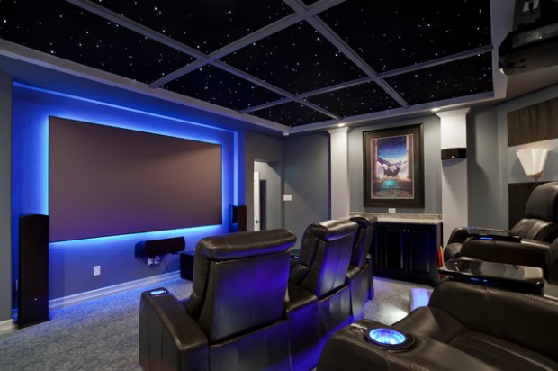Wonderful 23 Ultra Modern And Unique Home Theater Design Ideas