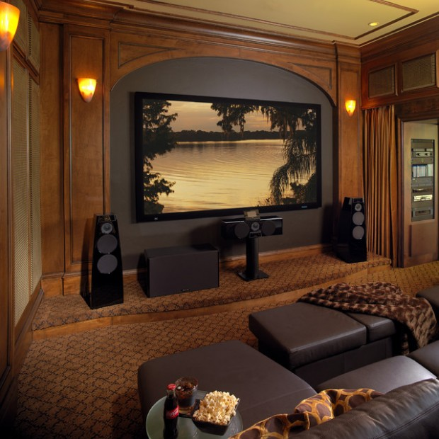 Modern Home Theatre Ideas: 23 Ultra- Modern And Unique Home Theater Design Ideas