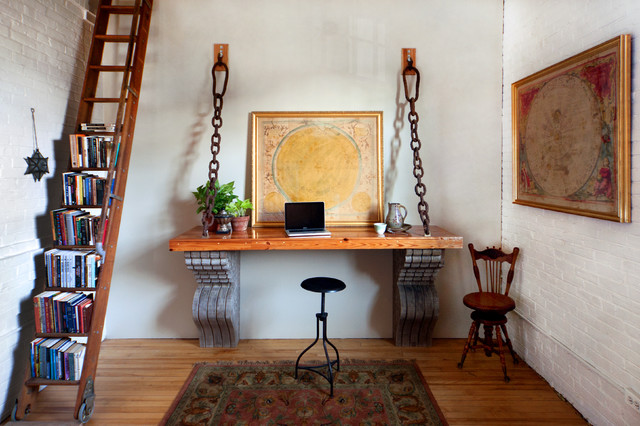 20 industrial home office design ideas for simple and professional