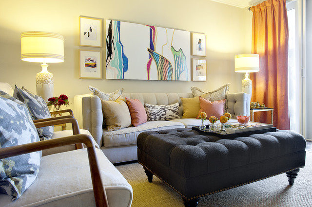 20 Design and Decor Ideas and Tricks for Small Living Rooms - Small Living Rooms, Small Living Room, living room ideas, living room design ideas, living room decorating