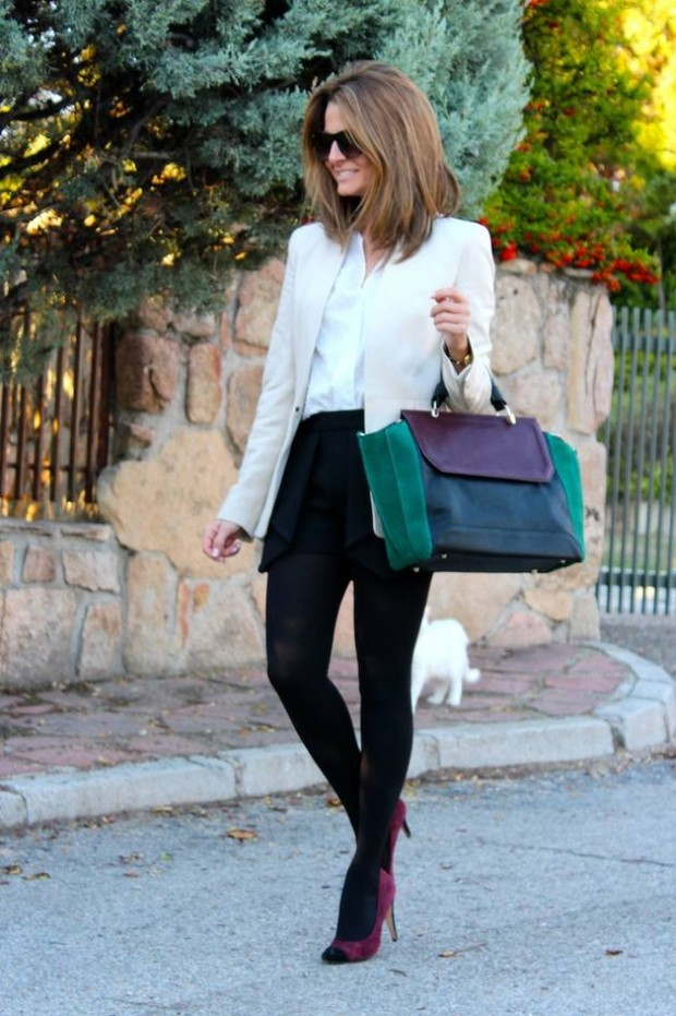 How to Style and Wear White Blazer this Fall: 16 Outfits Ideas