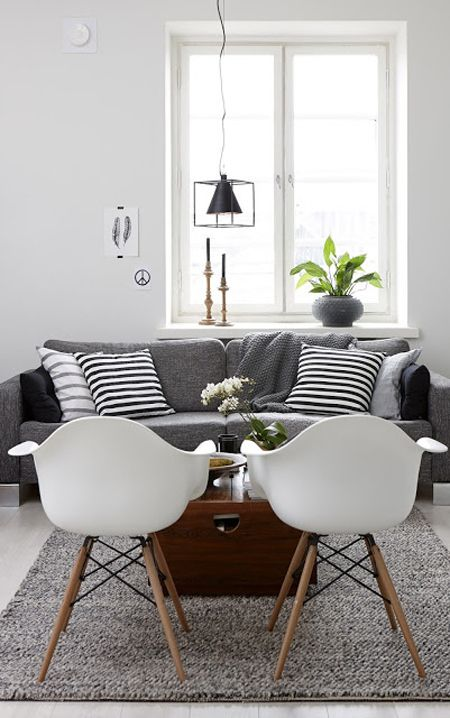 Creating Cosiness in an All White Room