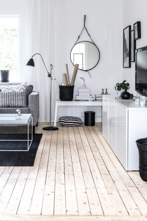 Creating Cosiness in an All-White Room - Style Motivation