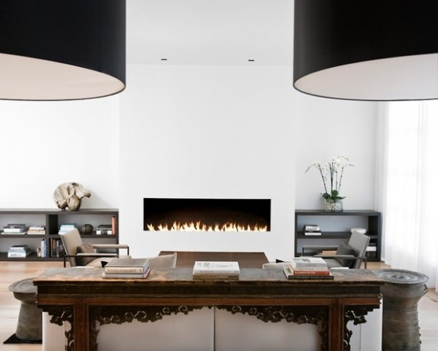22 Modern Fireplace Design Ideas for Cozy Living Room Look