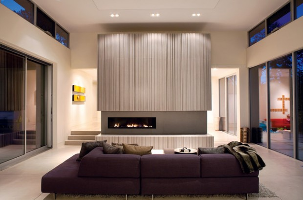 22 Modern Fireplace Design Ideas for Cozy Living Room Look - Style ...