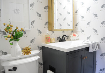 5 Decorating Tips for Small Bathrooms - wet room, home decor, bathroom, bath