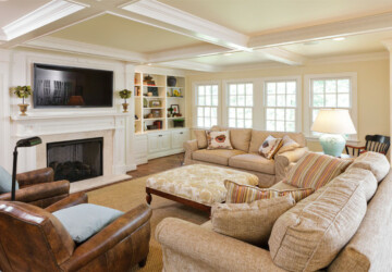 22 Comfortable Family Room Design Ideas - Living room, interior, family room