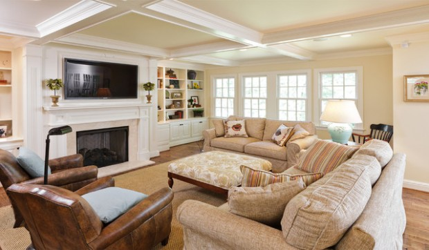 22 Comfortable Family Room Design Ideas - Style Motivation