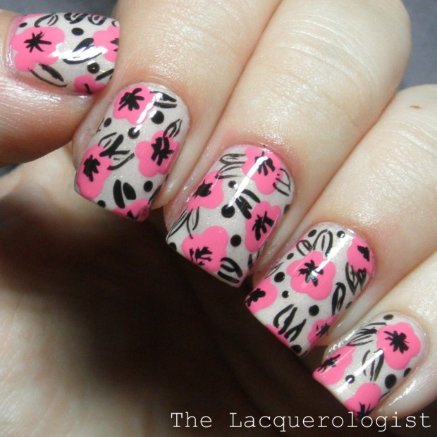 20 Pretty Floral Nail Art Ideas